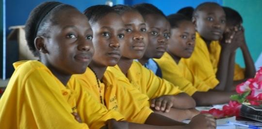 Afrikanische Schulkinder