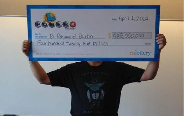 California Powerball Lottery Winner
