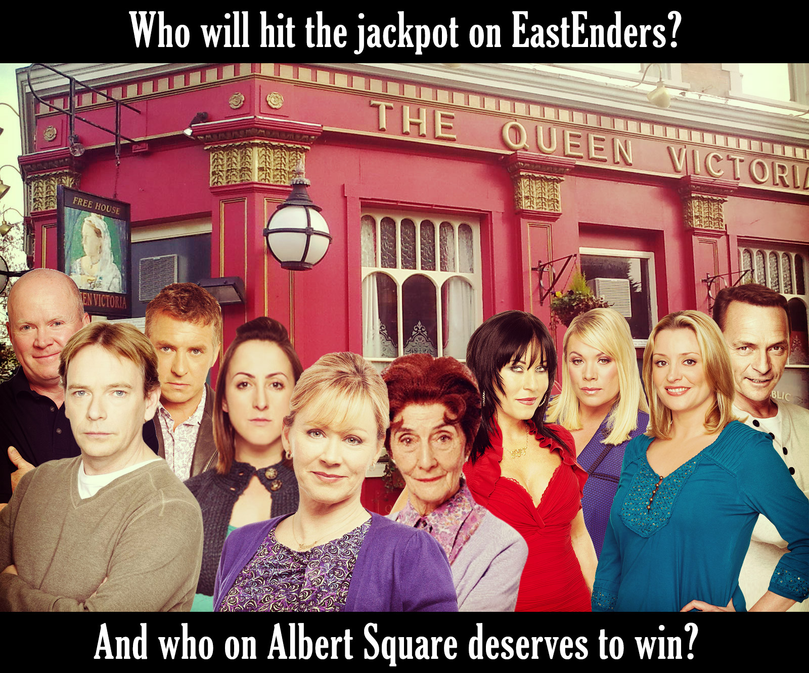 EastEnders Lottery Ticket Story Revealed