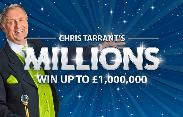 The New Chris Tarrant Scratchcard