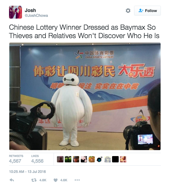 Best Lottery Tweets