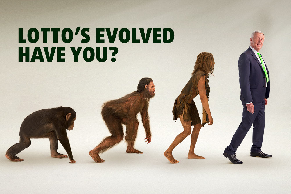 Lotto's Evolved. Have You?