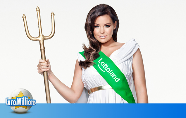 Former TOWIE Star Jess Wright Promotes Our EuroMillions Price Freeze