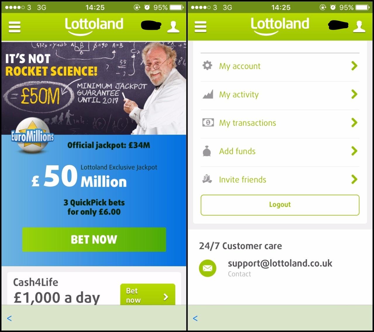 Lottoland.Com App