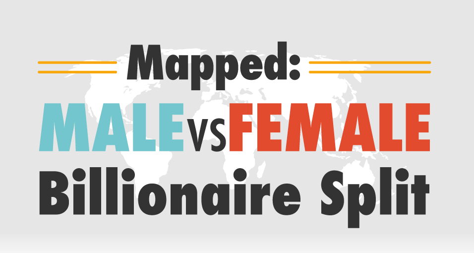 Male vs Female Billionaire Split