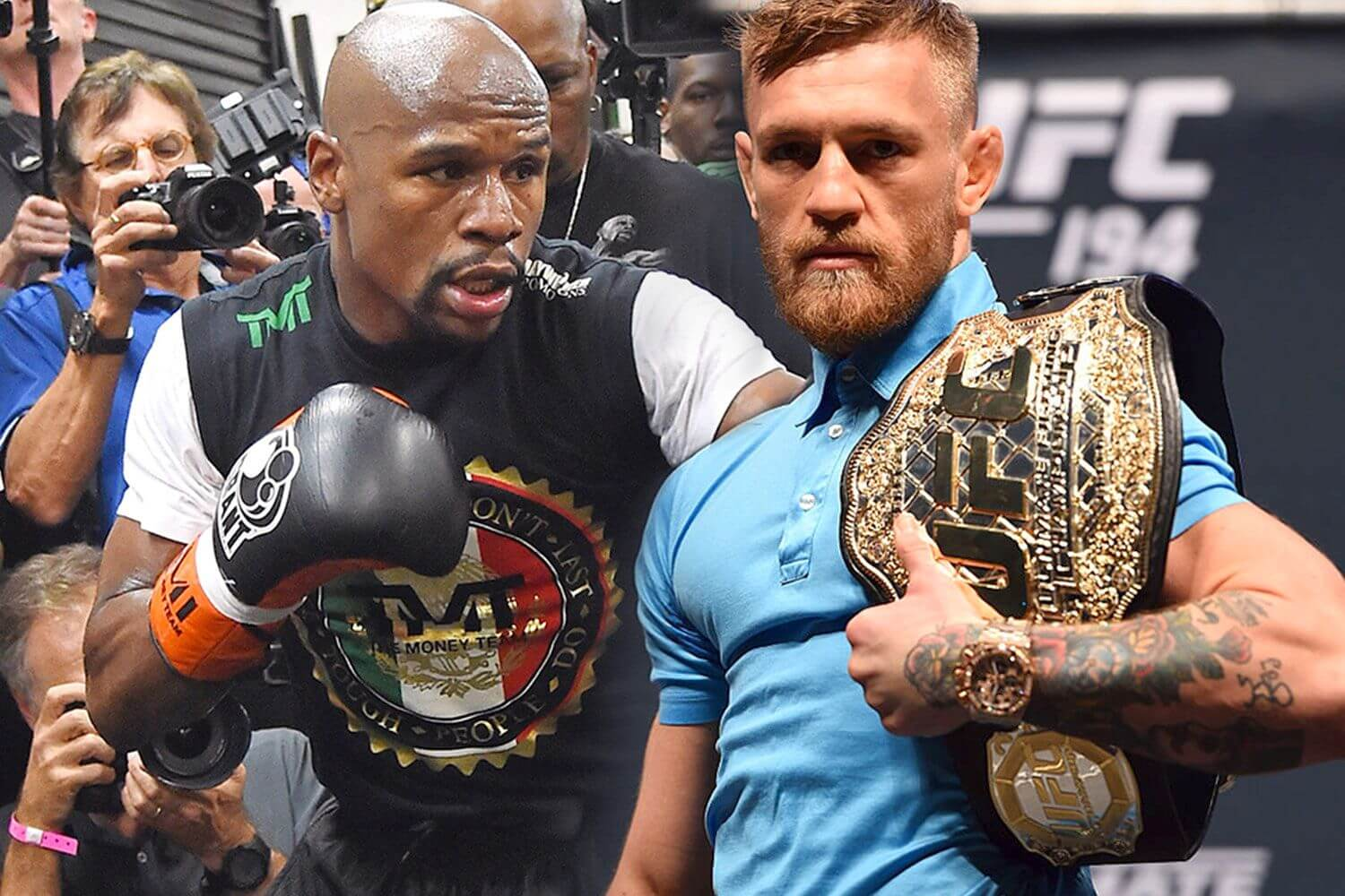 McGregor versus Mayweather: Is the Upset Really Possible?