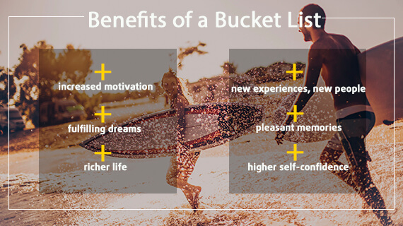 Create a Bucket List and Make Your Dreams Come True