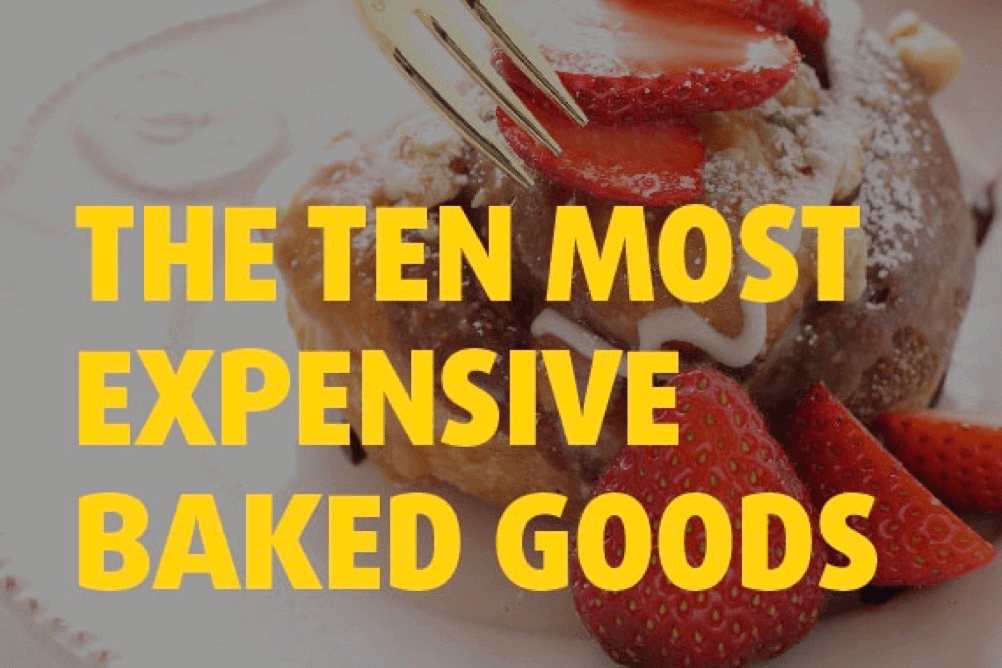 The Most Expensive Baked Goods