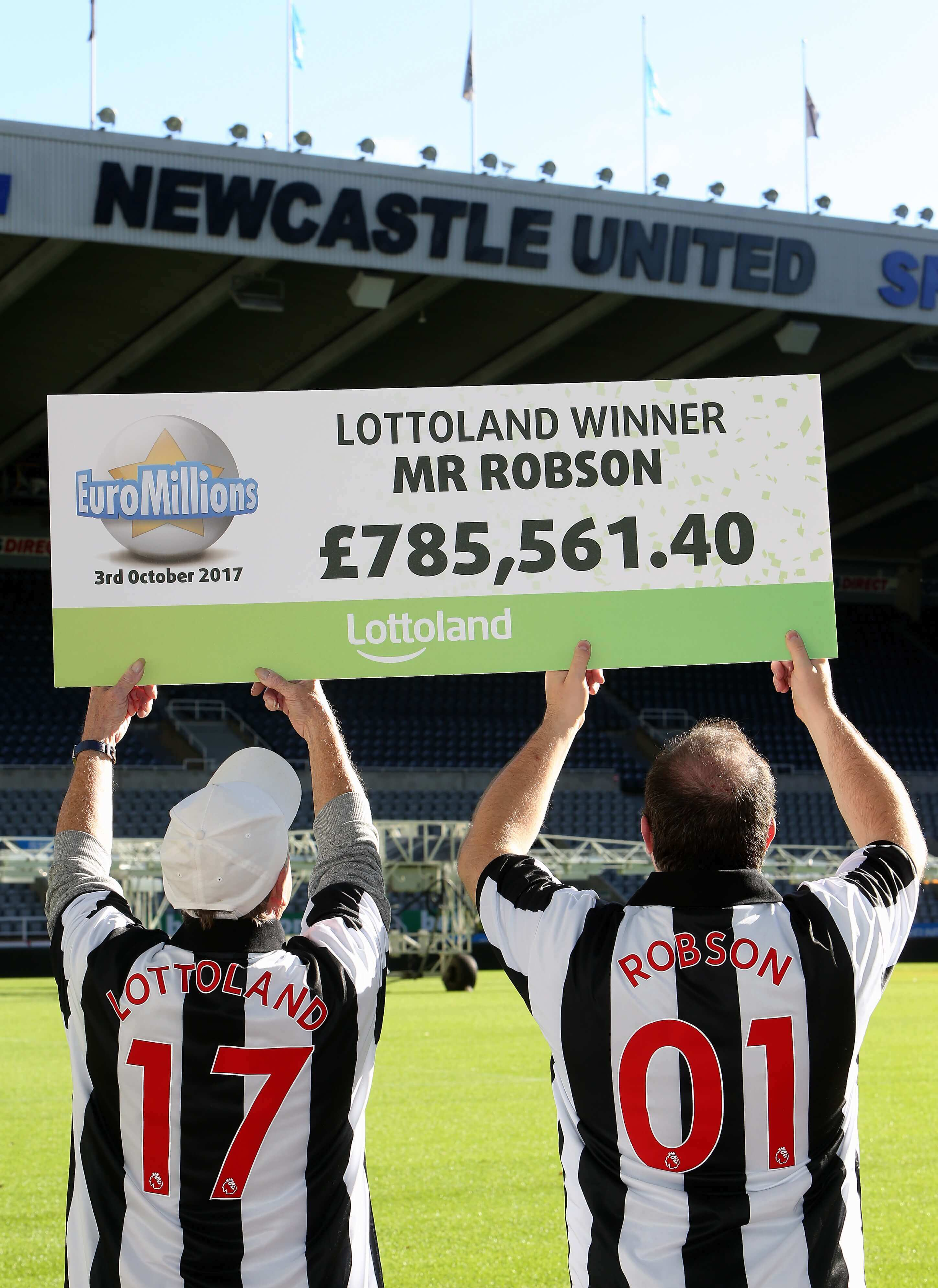Jammy Geordie wins £785k bet on EuroMillions